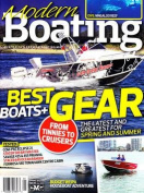 Modern Boating - 1 year subscription - 4 issues