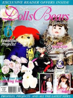 Australian Dolls, Bears & Collectables - 1 year subscription - 6 issues