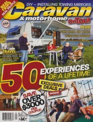 Caravan & Motorhome On Tour - 1 year subscription - 15 issues