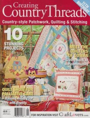 Country Threads - 1 year subscription - 14 issues