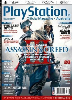 Australian Official Playstation Magazine - 1 year subscription - 12 issues