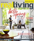 Real Living - 1 year subscription - 12 issues