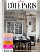 VIVRE COTE PARIS (France) - 1 year subscription - 6 issues