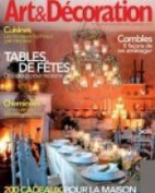ART & DECORATION (France) - 1 year subscription - 8 issues