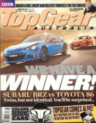 Top Gear Australia - 1 year subscription - 12 issues