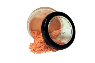 Minerallustre Cinnamon Blush: 100% natural mineral, Made in the USA.