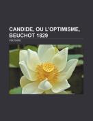 Candide, Ou L'Optimisme, Beuchot 1829 [FRE]