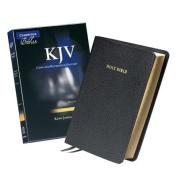 KJV Concord Reference Edition Black Calf Split Leather KJ563:XR