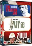 Italian Job/Zulu/Alfie [Region 2]