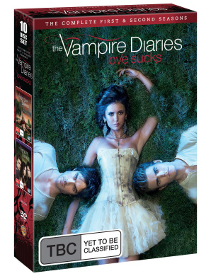 Vampire Diaries - Seasons 1-2 (10 Disc Box Set)