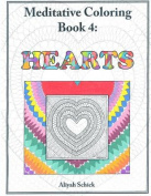 Hearts: Meditative Coloring, Book 4