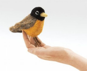 Mini Robin Finger Puppet by Folkmanis - 2742