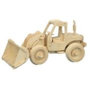Bulldozer - Woodcraft Construction Kit