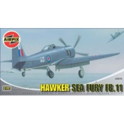 Airfix A02045 1:72 Scale Hawker Sea Fury FB.11 Military Aircraft Classic Kit Series 2