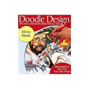 Doodle Design - The Ideal Colouring Book for all Ages - Movie Greats