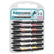 Letraset Aquamarker New 12 Pen Set - Set 1