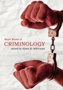 Major Works in Criminology