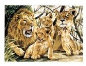 Reeves - Paint By Numbers Ambush Of Tigers