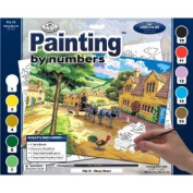 Royal & Langnickel Painting by Numbers Adult Large Art Activity Kit, Steep Street