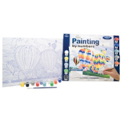 Royal & Langnickel Painting by Numbers Adult Large Art Activity Kit, Ballooning