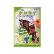 A5 Juniors Painting By Numbers Mare & Foal Horses Age 8+