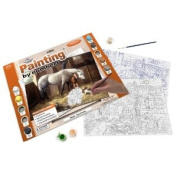 Royal & Langnickel Painting by Numbers Adult Large Art Activity Kit, New Friends