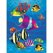 "Learn To Paint! Paint By Number Kit 23cm X12""-Tropical Swim"