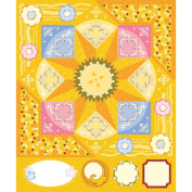 ColorStories Cardstock Stickers-Yellow