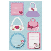 Perfectly Posh Sticker Stackers 13cm x 18cm Sheet-Tres Chic