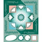 ColorStories Cardstock Stickers-Green