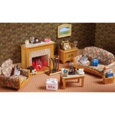 Sylvanian Families Country Living Room Set By Flair