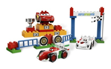 LEGO Duplo Cars 5839 World Grand Prix