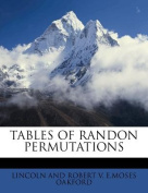 Tables of Randon Permutations