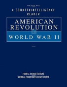 A Counterintelligence Reader, Volume I