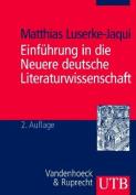 Einfuhrung in Die Neuere Deutsche Literaturwissenschaft [GER]