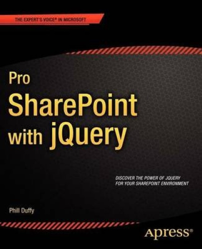 Pro SharePoint with JQuery by Phill Duffy.