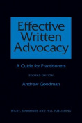 Effective Written Advocacy