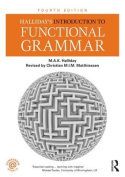 Halliday's Introduction to Functional Grammar