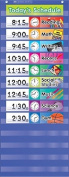 Teachers Friend TF-5102 Daily Schedule Pocket Chart Gr K-5