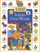 1000 First Words in Italian