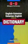English-Estonian & Estonian-English One-to-One Dictionary
