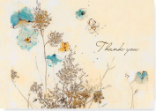 Watercolor Flowers Thank You Notes