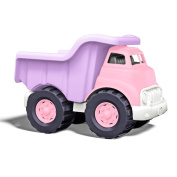 Green Toys Vehicles Pink Dump Truck 10 x 7 1/2 x 7 1/8 +1 year 225289