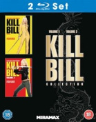 Kill Bill: Volumes 1 and 2 [Region 2] [Blu-ray]