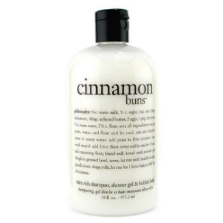 Cinnamon Buns 3-In-1 Bath & Shower Gel, 473.1ml/16oz
