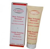 Clarins Gentle Foaming Cleanser With Shea Butter ( Dry/ Sensitive Skin ), 125ml/4.4oz