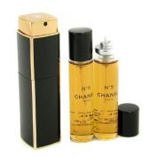 No.5 Eau De Parfum Purse Spray And 2 Refills, 3x20ml/0.7oz