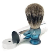 Travel Brush Fine With Canister - Blue, 1pc