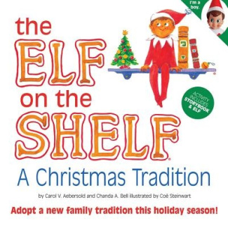 The Elf on the Shelf Boy Light Doll with Book: A Christmas Tradition
