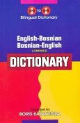 English-Bosnian & Bosnian-English One-to-One Dictionary